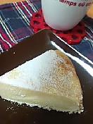初めてのチーズケーキ